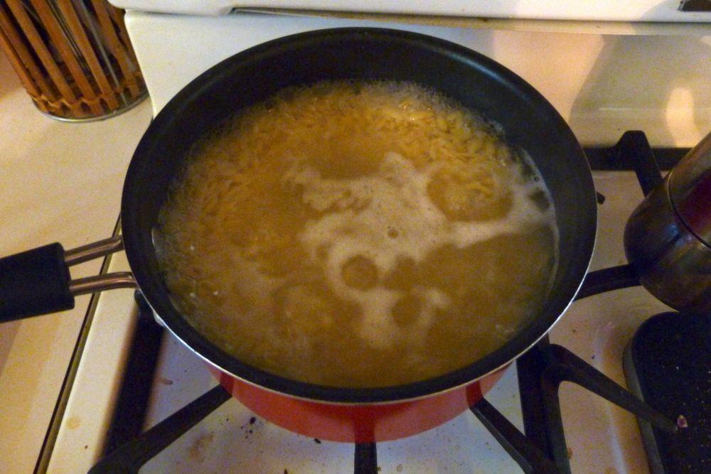 Boiling Orzo
