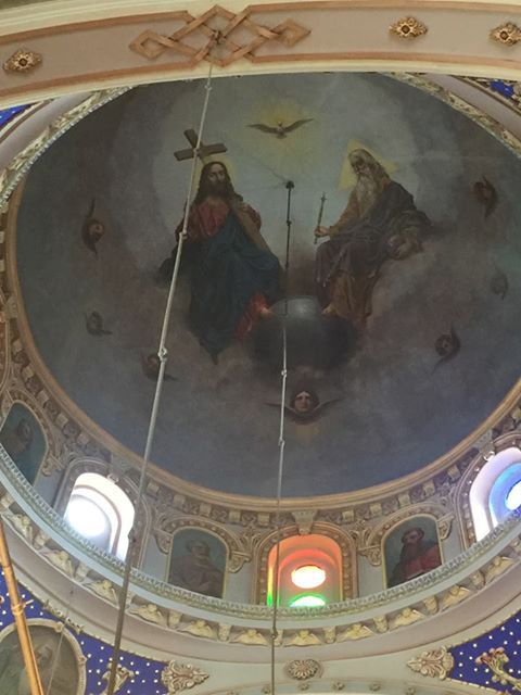Ceiling of Panayia Church
