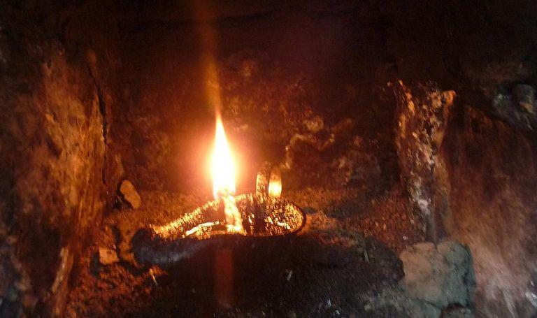 Yezidi Oil Lamp - Lalish