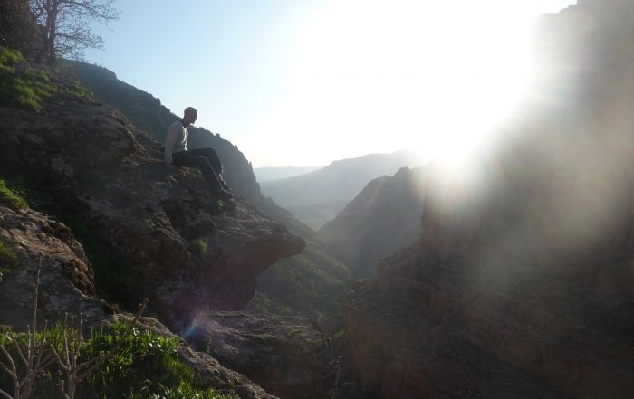 at the gorge in iraq